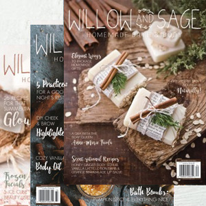 <a href=&quot;https://stampington.com/willow-and-sage&quot;>Previous Issues</a>